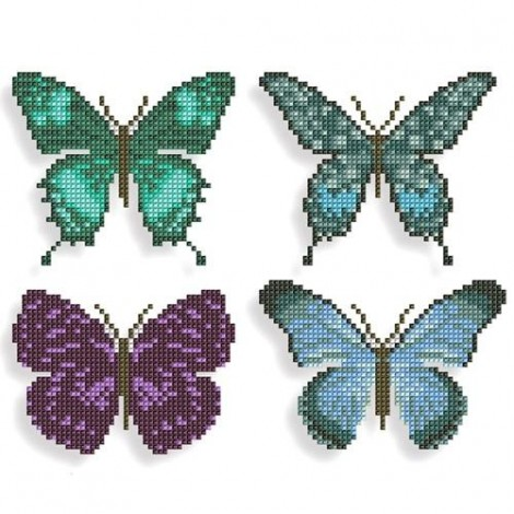 5D Butterfly Stickers