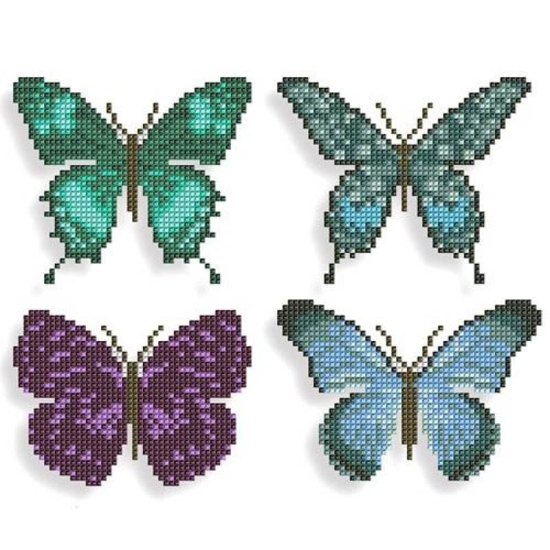 5D Butterfly Sticker...