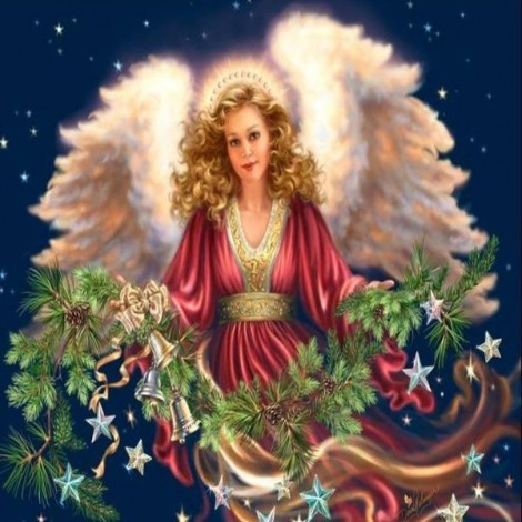 Angel's Christmas Sprigs