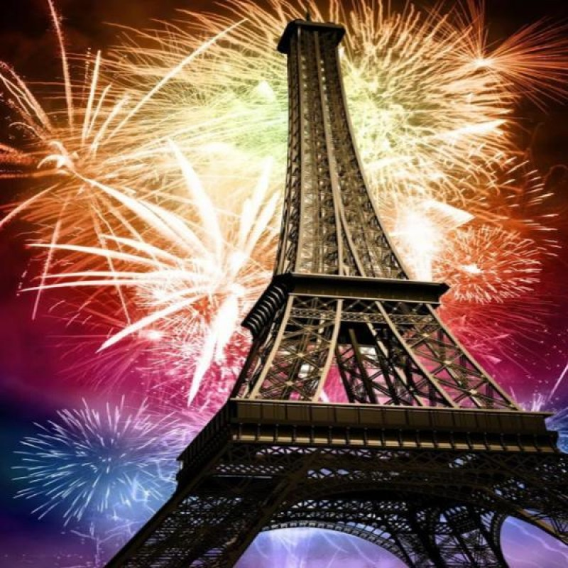 Eiffel New Years