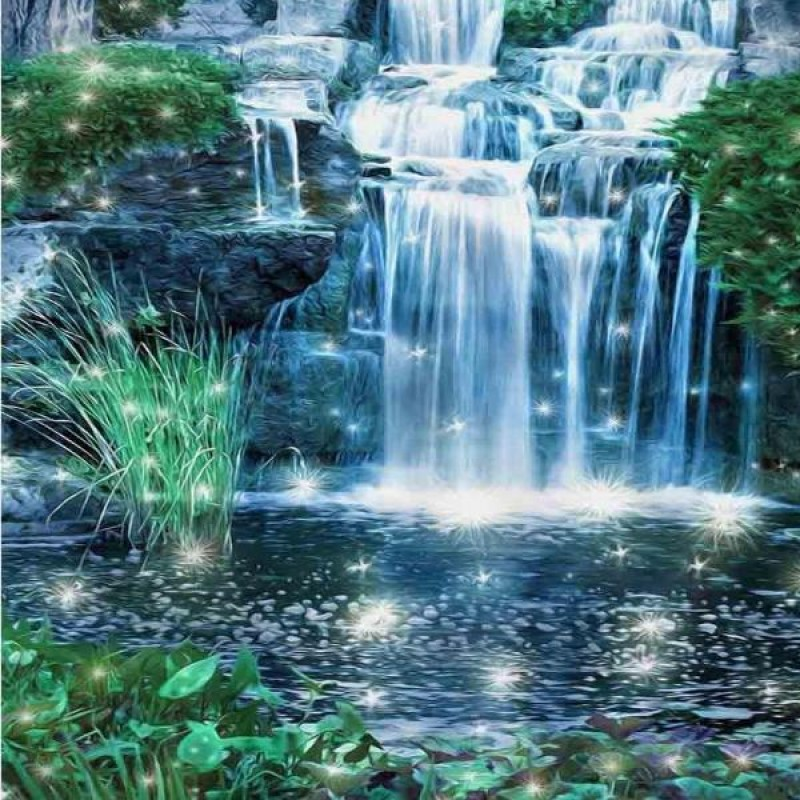 Sparkling Waterfall