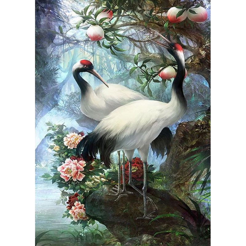 Forest Cranes