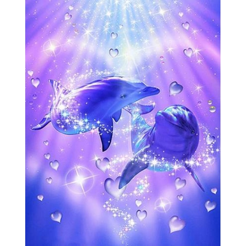 Love Bubble Dolphins