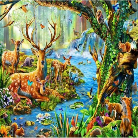 Animal's Forest River