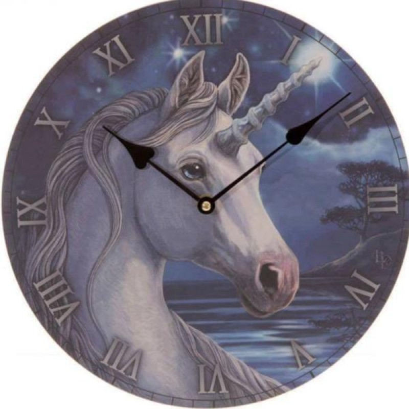Unicorn Clock Face