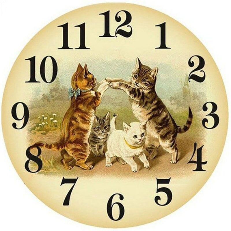 Cat Clock Face